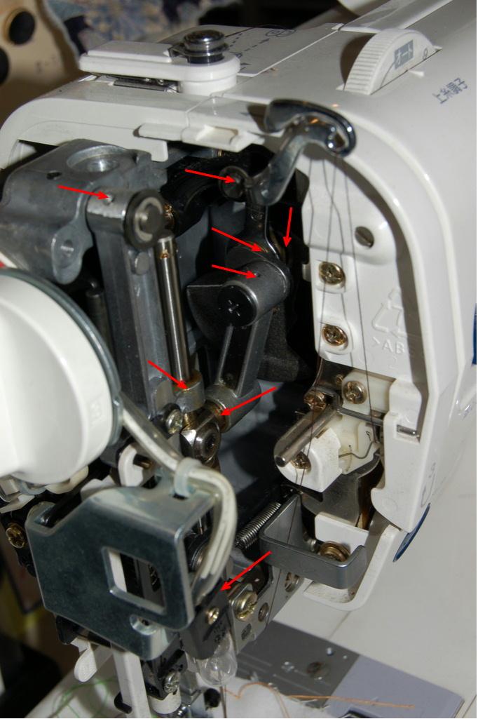 モナーゼE4000の面板内部