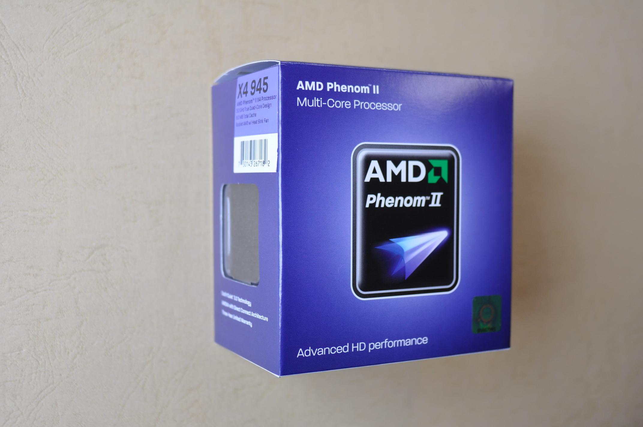 AMD PhenomⅡX4 パッケージ