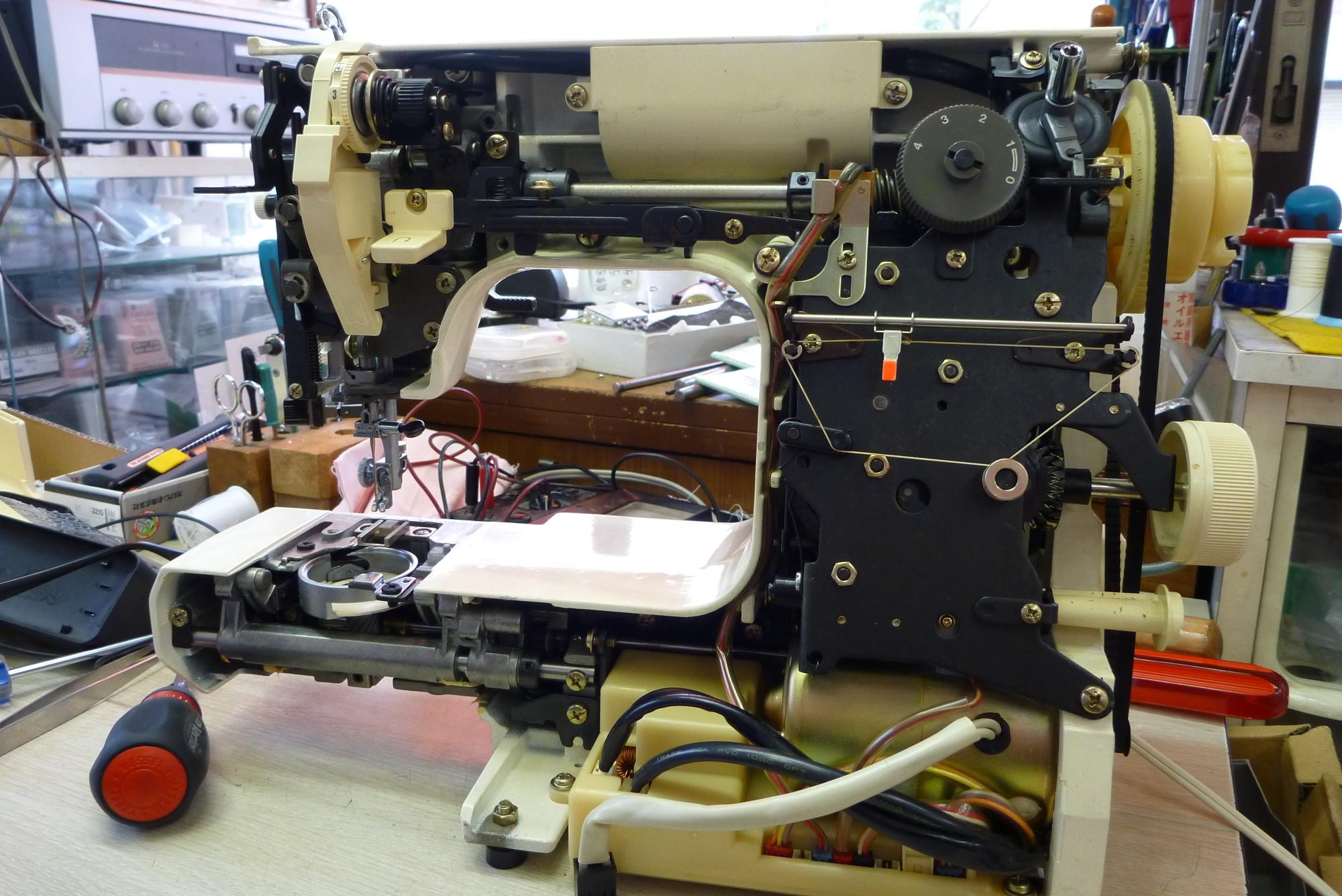ミシン修理、N3000