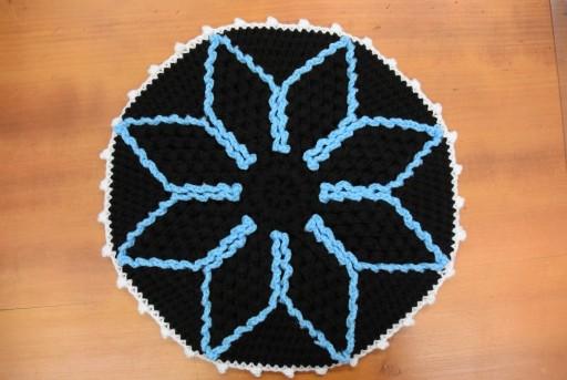 水色枠の円座
